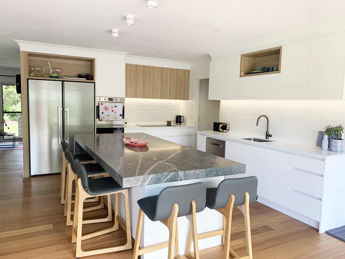 a new kitchen in samford north brisbane